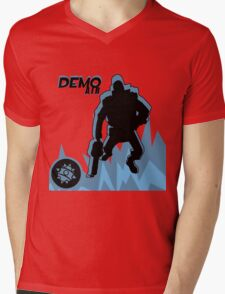 BLU Demoman - Team Fortress 2 Mens V-Neck T-Shirt
