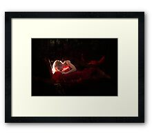 Last Kiss Framed Print