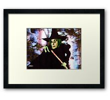 The New Wicked Witch of the West Framed Print