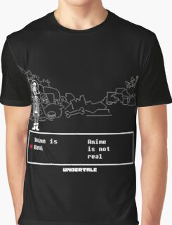 UNDERTALE · T-SHIRT is anime real Graphic T-Shirt