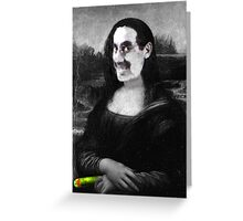 Mona Grouchironi Greeting Card