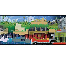 Mario world HD design Photographic Print