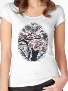 桜しかない Women's Fitted Scoop T-Shirt