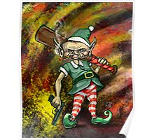 Disgruntled Elf Poster