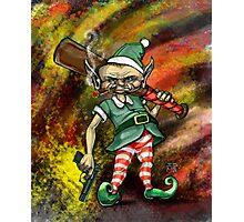 Disgruntled Elf Photographic Print