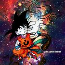 Goku  by colorblind
