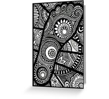 Bound Foot Greeting Card