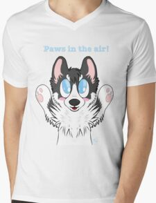 Paws in the air! Mens V-Neck T-Shirt