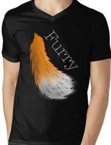 Furry! Mens V-Neck T-Shirt