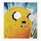 Jake the Dog - Adventure Time (Canvas Paint) by superstarink