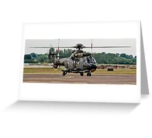 T-314 Aerospatiale AS.332 Puma of the Swiss Air Force Greeting Card