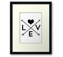 Love Is Everywhere Framed Print