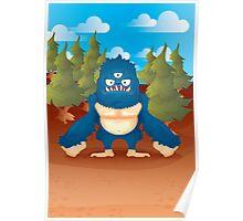 Caruleo, the Blue Poster
