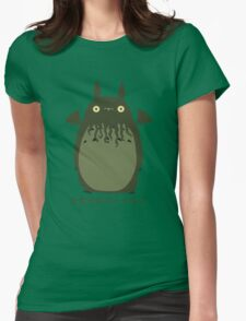 My Neighbor Cthulhu Womens Fitted T-Shirt