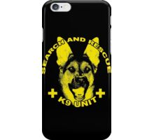 Search and Rescue K9 Unit iPhone Case/Skin