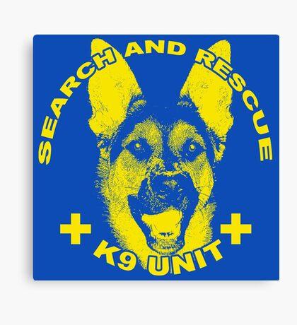 Search and Rescue K9 Unit Canvas Print