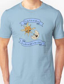 Solrock and Lunatone Motivational Unisex T-Shirt