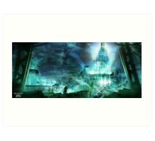 Final Fantasy VII - Midgard Art Print