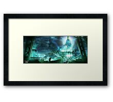 Final Fantasy VII - Midgard Framed Print