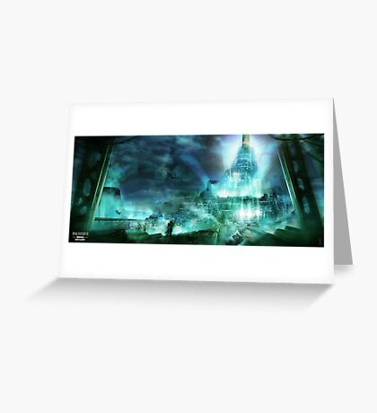 Final Fantasy VII - Midgard Greeting Card