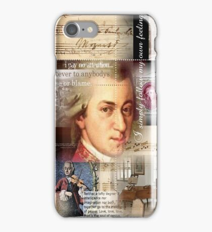 mozart iPhone Case/Skin