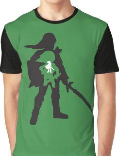 The Legend of Zelda - The Evolution of Link Graphic T-Shirt
