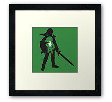 The Legend of Zelda - The Evolution of Link Framed Print
