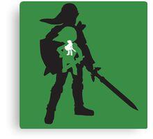 The Legend of Zelda - The Evolution of Link Canvas Print