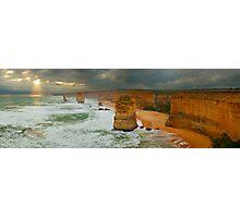 Stormy Twelve Apostles, Great Ocean Road, Victoria, Australia Photographic Print