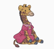 A Cute Little Giraffe in a Dress by lindypie