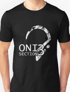 ONI Section 3 - Badge (White) Unisex T-Shirt