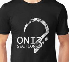 ONI Section 3 - Badge (White) Unisex T-Shirt