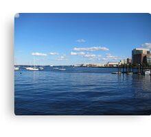 Boston skiline Canvas Print