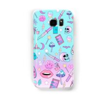 Girly Pastel Witch Goth Pattern Samsung Galaxy Case/Skin