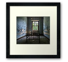 ...decayed on the inside... Framed Print
