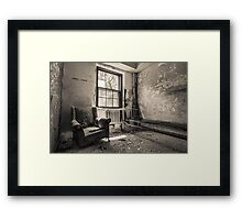 ...sit with me... Framed Print