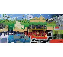 Mario world HD design update Photographic Print