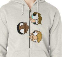 SG head stack Zip Up hoodie Zipped Hoodie