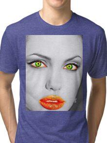 Angelina Jolie Tri-blend T-Shirt