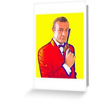 Sean Connery in From Russia with Love Greeting Card