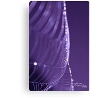 Turning Purple Canvas Print
