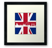 British Flag Framed Print