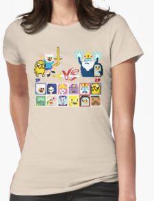 Super Adventure Fighter T-Shirt Womens Fitted T-Shirt