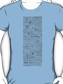 Font Poster T-Shirt