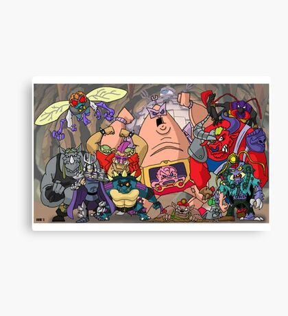 Clan of the Foot Canvas Print