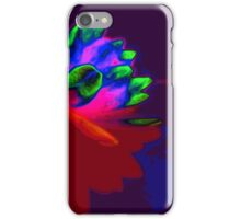 Water lily abstract pop art iPhone Case/Skin