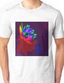 Water lily abstract pop art Unisex T-Shirt