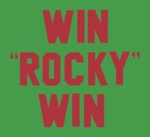 """WIN """"ROCKY"""" WIN One Piece - Short Sleeve"""