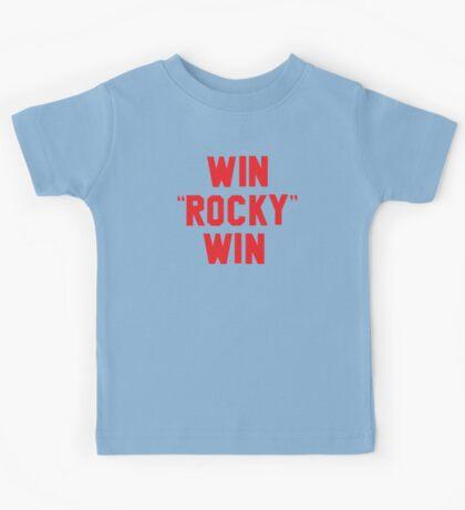 """WIN """"ROCKY"""" WIN Kids Tee"""