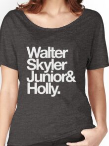 White Family. Women's Relaxed Fit T-Shirt
